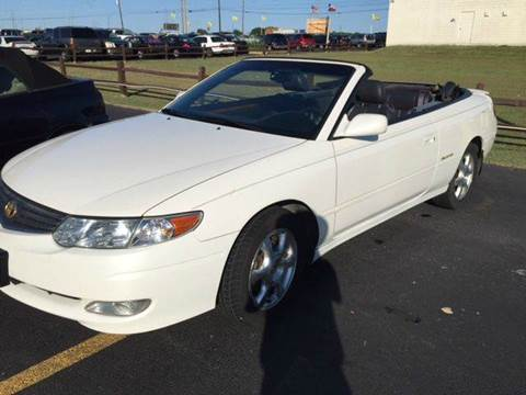 2002 Toyota Camry Solara for sale in Pflugerville, TX