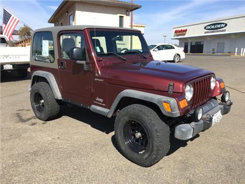 2003 Jeep Wrangler for sale in Shingle Springs, CA