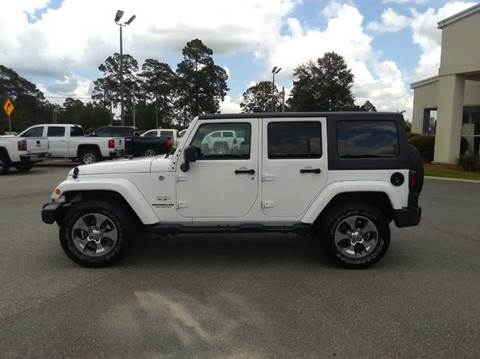2016 Jeep Wrangler Unlimited for sale in Adel, GA