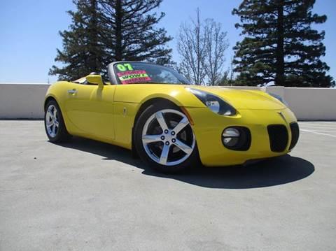 2007 Pontiac Solstice for sale in Roseville, CA