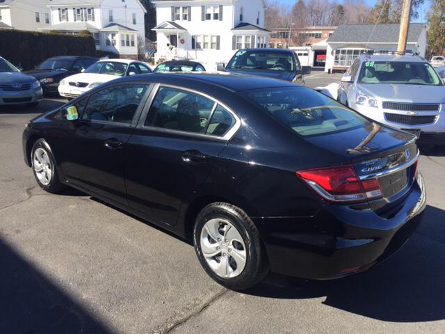 2013 Honda Civic LX 4dr Sedan 5A - Holyoke MA