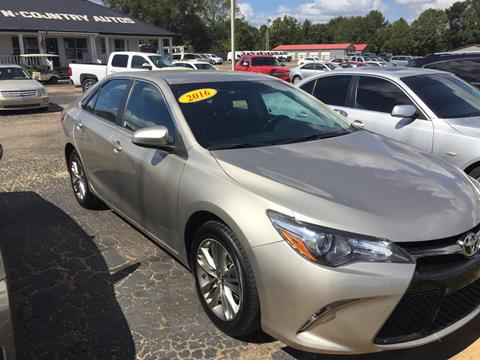 2016 Toyota Camry for sale in Jackson, AL