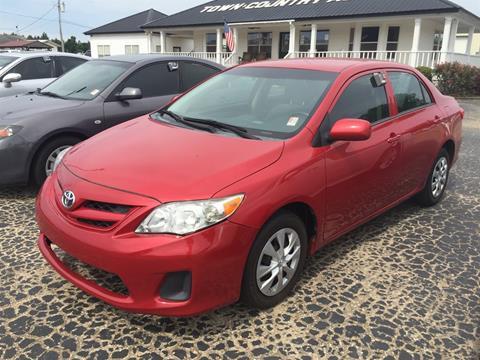 2013 Toyota Corolla for sale in Jackson, AL