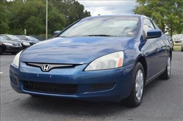 2003 Honda Accord for sale in Conway, SC