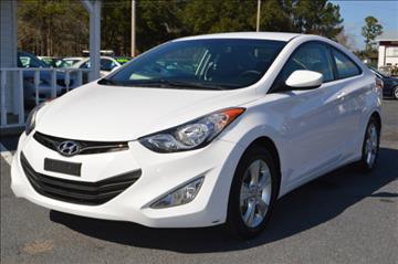 2013 Hyundai Elantra Coupe for sale in Conway, SC