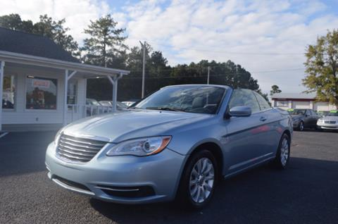 2013 Chrysler 200 Convertible for sale in Conway, SC