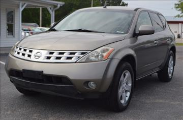 2004 Nissan Murano for sale in Conway, SC