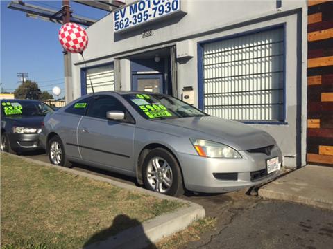 2005 Honda Accord for sale in Pico Rivera, CA