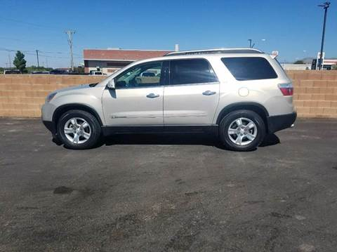 2008 GMC Acadia for sale in Alamogordo, NM