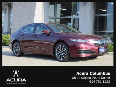 2015 Acura TLX for sale in Dublin OH