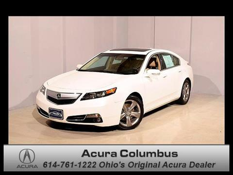 2012 Acura TL for sale in Dublin OH