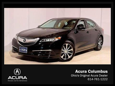 2015 Acura TLX for sale in Dublin, OH