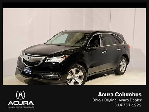 2015 Acura MDX for sale in Dublin, OH