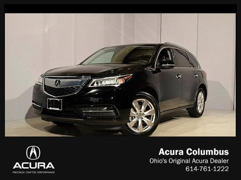 2016 Acura MDX for sale in Dublin, OH