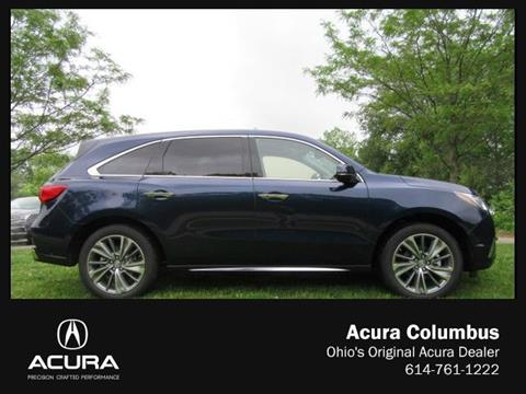 2017 Acura MDX for sale in Dublin, OH