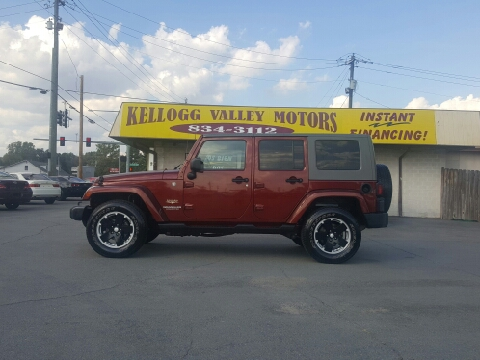 2007 jeep wrangler for sale arkansas for Creek wood motor company