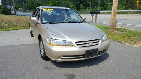 2002 Honda Accord for sale in Plaistow, NH
