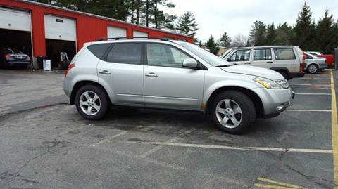2003 Nissan Murano for sale in Plaistow, NH