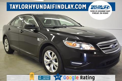 2012 Ford Taurus for sale in Findlay, OH