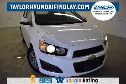 2012 Chevrolet Sonic for sale in Findlay, OH