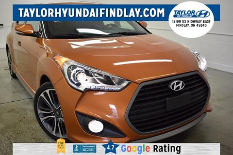2016 Hyundai Veloster Turbo for sale in Findlay, OH