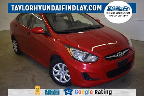 2012 Hyundai Accent for sale in Findlay, OH