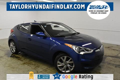 2016 Hyundai Veloster for sale in Findlay, OH