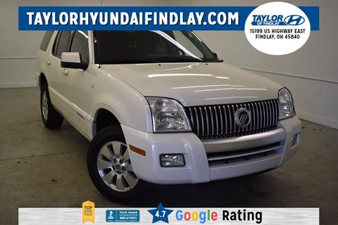 2009 Mercury Mountaineer for sale in Findlay, OH
