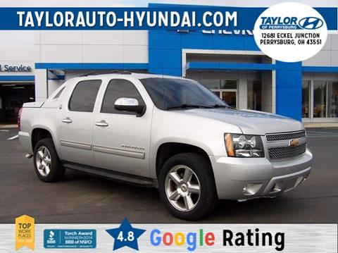2013 Chevrolet Black Diamond Avalanche for sale in Findlay, OH
