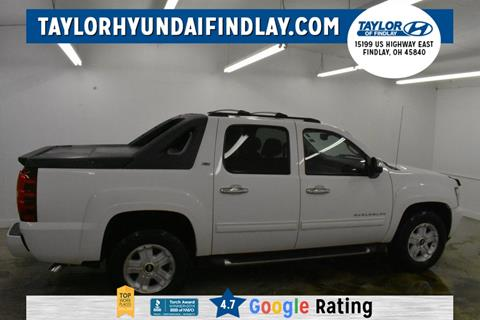 2012 Chevrolet Avalanche for sale in Findlay, OH