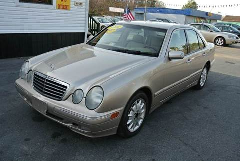 2002 Mercedes Benz E Class For Sale