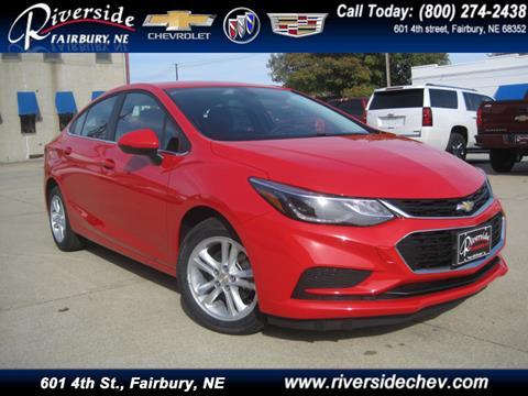 2017 Chevrolet Cruze for sale in Fairbury NE