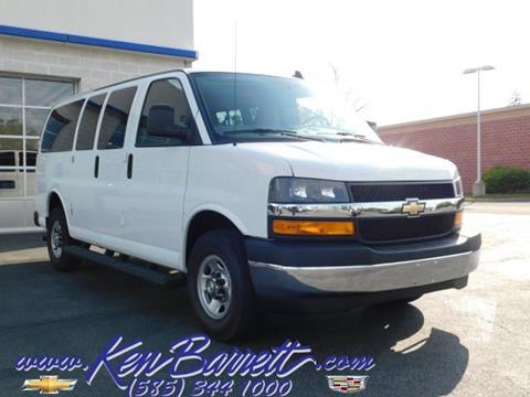 2018 Chevrolet Express Passenger for sale in Batavia, NY