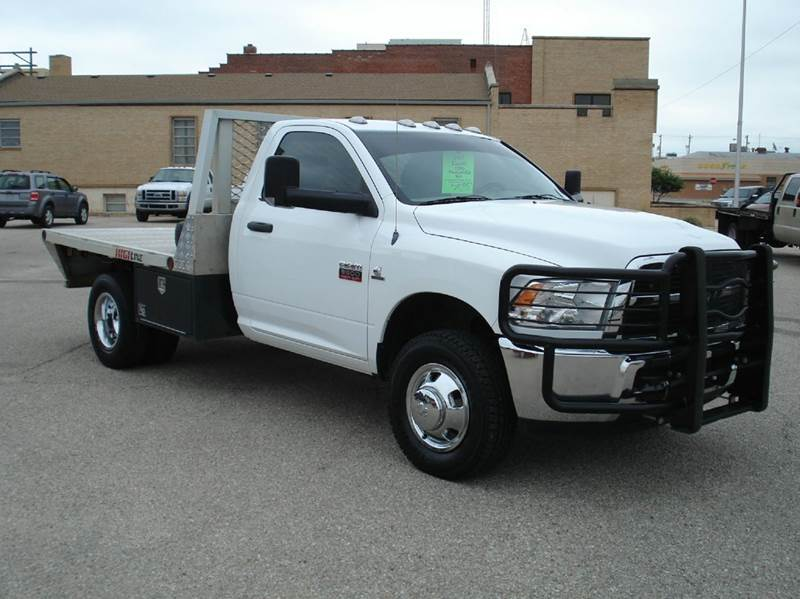 2012 RAM Ram Chassis 3500 4x4 ST 2dr Regular Cab 143.5 in. WB Chassis - Hutchinson KS