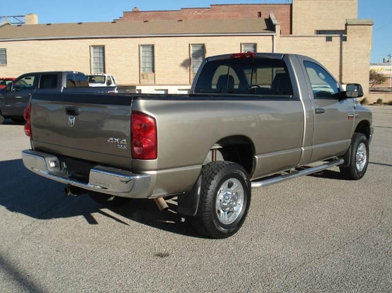 2009 Dodge Ram Pickup 2500 4x4 SLT 2dr Regular Cab 8 ft. LB - Hutchinson KS