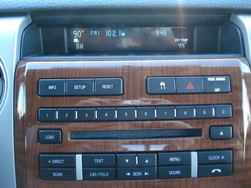 2010 Ford F-150 4x4 Lariat 4dr SuperCrew Styleside 5.5 ft. SB - Hutchinson KS