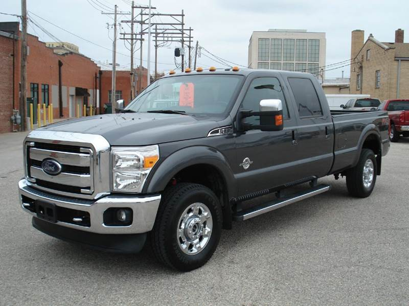 2015 Ford F-350 Super Duty 4x4 Lariat 4dr Crew Cab 8 ft. LB SRW Pickup - Hutchinson KS