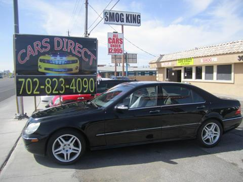 2006 Mercedes-Benz S-Class for sale in Las Vegas, NV
