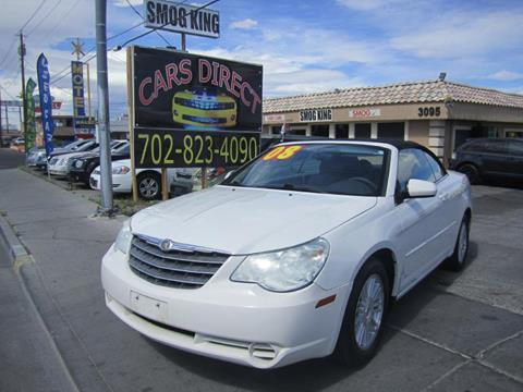 2008 Chrysler Sebring for sale in Las Vegas, NV