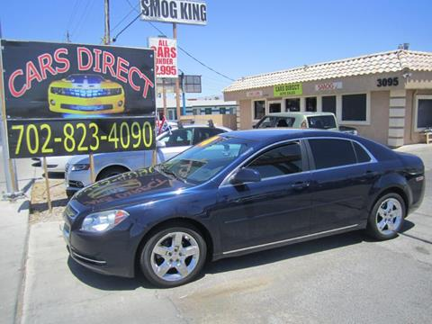 2010 Chevrolet Malibu for sale in Las Vegas, NV
