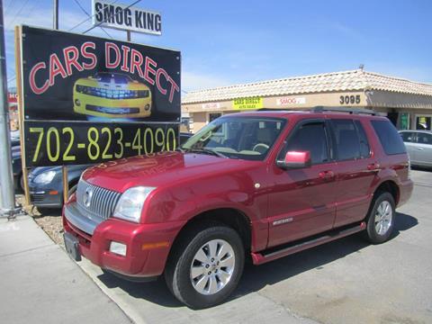 2008 Mercury Mountaineer for sale in Las Vegas, NV