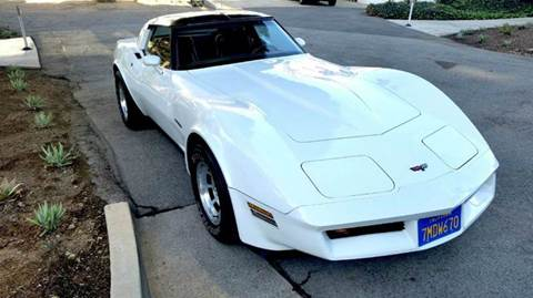used 1982 chevrolet corvette for sale arkansas. Black Bedroom Furniture Sets. Home Design Ideas