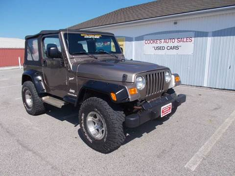 2003 Jeep Wrangler for sale in Chardon, OH