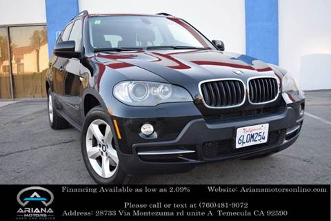 2007 BMW X5 for sale in Temecula, CA