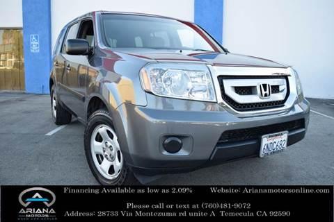 2011 Honda Pilot for sale in Temecula, CA
