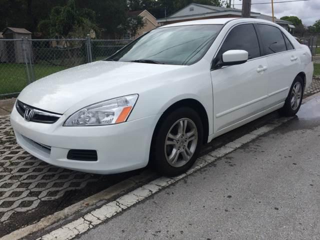 2007 Honda Accord for sale in Miami FL Carsforsale