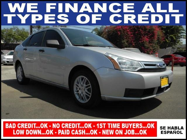 2010 FORD FOCUS SE 4DR SEDAN silver air conditioning amfm stereo anti-lock brakes cd player