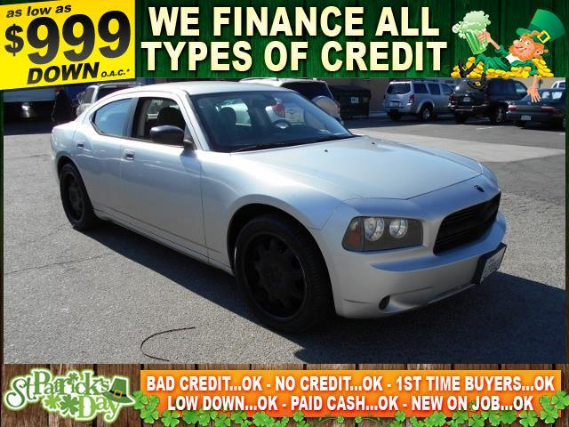 2008 DODGE CHARGER BASE 4DR SEDAN silver limited warranty included to assure your worry-free purc