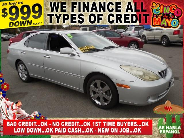 2005 LEXUS ES 330 BASE 4DR SEDAN silver limited warranty included to assure your worry-free purch