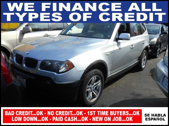 2004 BMW X3 30I AWD 4DR SUV silver limited warranty included to assure your worry-free purchase